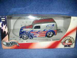 FREEDOM RIDES ANGLIA PANEL TRUCK 1:24 SCALE HOT WHEELS, NEW OLD STOCK
