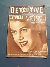 Détective 1949 TRéGUIER BELFORT TROYES LOUDUN
