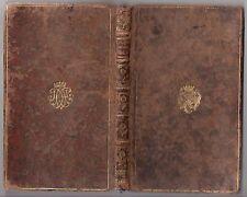 1743 NATHAN BEN SADDI CHRONIQUE DES ROIS D'ANGLETERRE 1st ed. ROBERT DODSLEY
