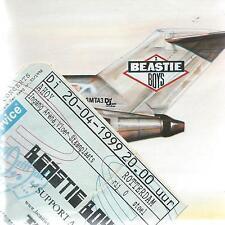 CD album BEASTIE BOYS - LICENCED TO ILL  + CONCERT TICKET ( my ref : EEE)
