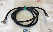TIMES Microwave® LMR195 1-30' RF Pigtail Cable FME Male to Female MADE IN USA