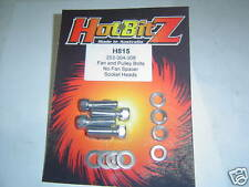 Chrome 253 304 308  Fan & Pulley Bolts Sent Registered Post