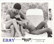 Diana Valentien busty leggy VINTAGE Photo Rick Kahn Squeeze Play