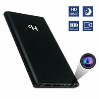 2 In 1 5000mAh Portable Power Bank With Mini 1080P HD Camera/Cam + Night Vision