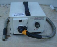 Fostec Schott Microscope Illuminator Ace I Eke Light Source Fiber Optic Flex