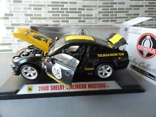1/18 Shelby Collectibles 2008 Shelby Terlingua Mustang #08 black yellow