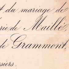 Jeanne Marie De Maille De La Tour-Landry 1889 Pierre De Grammont