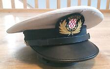Kroatische Marine Kontra Admiral Schirmmütze mit Abzeichen Kroatien Ustasa
