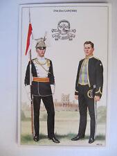 17th/21st Lancers - Military Postcard Geoff White Ltd