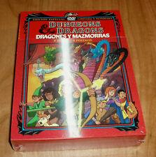 DRAGONES Y MAZMORRAS LIMITADA NUMERADA 4 DVD+8 POSTALES NUEVO (SIN ABRIR) 1-6