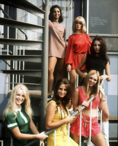 PAN'S PEOPLE POSTER PAGE . 1968 BBC TOP OF THE POPS DANCERS PANS . PP14