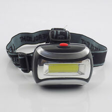 Mini COB led headlamp flashlight super bright head light torch lamp  for camping