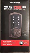 Kwikset SmartCode 915 Touchscreen Electronic Deadbolt 99150-003 Venetian Bronze