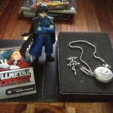 Fullmetal Alchemist Roy Mustang Figure + Alchemist Pocketwatch
