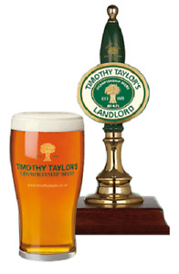 2 x Timothy Taylor Pint Glasses 20oz Brand New CE Stamped Genuine Official Bar