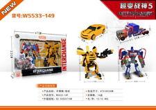 Transformer Robot Car Super Change Vehicle With Light & Sound Toy