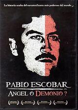 PABLO ESCOBAR - ANGEL O DEMONIO? - DVD ( CRONICA BIOGRAFICA)