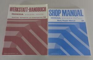 Manual de Taller + Suplemento Honda Accord Coupé CD7/CD9 1994-1995