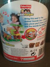 Fisher-Price Little People Zoo Talkers SEAL (lot B) New FREE SHIPPING
