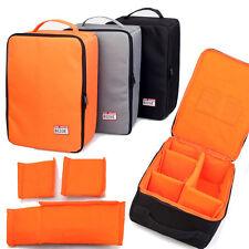 Large DSLR SLR Camera Bag Insert Handbag Padded Partition Case Lens Pouch Cover