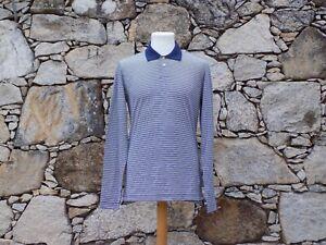 ORLEBAR BROWN.  Long sleeve pique polo shirt.  100% Cotton.  BNWOT.  Large.