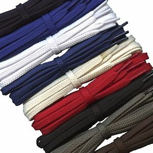 Strong Flat 6 mm shoe laces for sport and casual shoes / boots