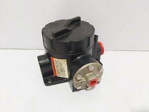 ASHCROFT B724V 60-PSI 15A 125/250/480VAC 1/2A 125VDC PRESSURE SWITCH
