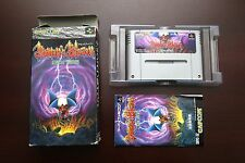 Super Famicom SFC Demon's Blazon Makaimura boxed Japan SNES game US Seller