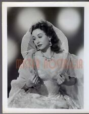 VINTAGE PHOTO 1949 Vera Ralston original studio portrait Republic Pictures