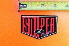 SNIPER Skateboard Speed Fast Rollerblade Blades Skates INLINE Skating STICKER