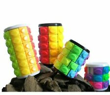 Toyzon Spin, Rotate and Twist Puzzle Cubes - 4 Pack Solving Bundle