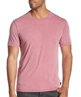 John Varvatos Star USA Men's Short Sleeve Crew Tee Shirt Washed Out Antique Rose
