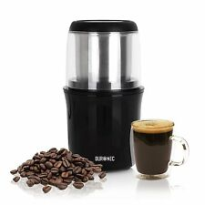Duronic CG250 Electric Coffee Bean Spice Grinder Nut Pepper Mill 250W