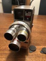 DeJUR ELECTRA 8mm Vintage Movie Camera Made in USA, Film Camera- UNTESTED