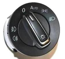 Volkswagen interruptor de luz cromo interruptor Transporter Sharan 3c8941431a original