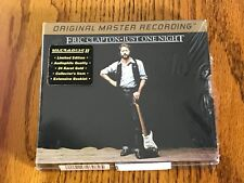 ERIC CLAPTON JUST ONE NIGHT MFSL 24-KARAT GOLD 2 CD BOX SET STILL FACTORY SEALED
