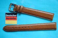XL Sellier Bracelet de montre marron moyen 16mm von Kaufmann MADE IN GERMANY