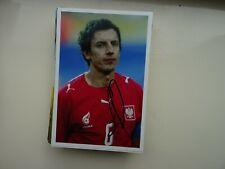 JACEK BAK - OLYMPIQUE LYON & POLAND - 10x15cm PHOTO ORIGINAL SIGNED