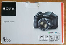 Sony Cyber-Shot DSC-H300 20.1 MP Digital Camera - BLACK - NEW