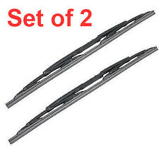 Land Rover 1999~2004 Discovery 2 II Windshield Windscreen Front Wiper Blade PAIR