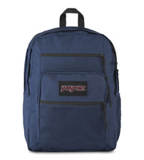 New JANSPORT BIG CAMPUS BACKPACK NAVY SCHOOL BOOK BAG - 100% AUTHENTIC