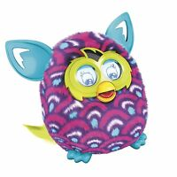 Furby Boom Purple Waves Ages 6+ Electronic Talking Pet Plush Toy Boys Girls Play