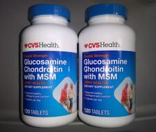 CVS Double Strength Glucosamine Chondroitin 240 Tablets compare to Osteo Bi-Flex