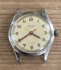 NICE VINTAGE EARLY BLANCPAIN ROLLS AUTOMATIC WRISTWATCH WATCH SWISS 17 JEWELS