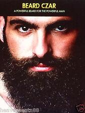 Beard Czar Facial Hair Growth Phytoceramides GROW A Viking BEARD Reduce Gray 30