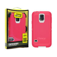 Otterbox Defender Series Protective Case For Samsung Galaxy S5 - Pink / White