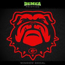 "Georgia Bulldogs - NCAA - Red Vinyl Sticker Decal 5"""