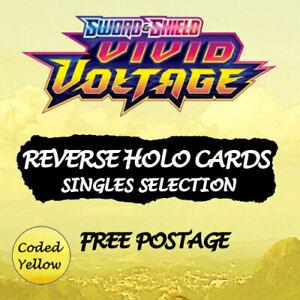 Vivid Voltage REVERSE HOLO | Pokémon SWSH New/Mint  Choose Your Card - Discounts
