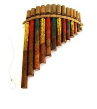Panflute Pan Flute, Panpipes Percussion Woodwind Instrument - NICE SOUND - NEW