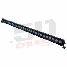 """51"""" LED Light Bar Combo Beam Snow Plow Blower Lawn Tractor Mower Towing"""
